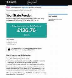 is national insurance a pension improving the check your state pension service in