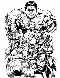 the avengers team assemble coloring page download print online coloring pages for free