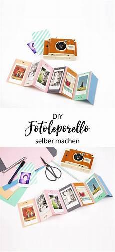 Fotogeschenke Zum Selber Machen - geschenkidee diy foto leporello und lomo instant kamera