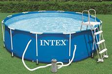 piscine tubulaire intex metal frame 3 66 x 0 99 m