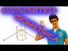 assonometria isometrica prisma a base esagonale vidoemo