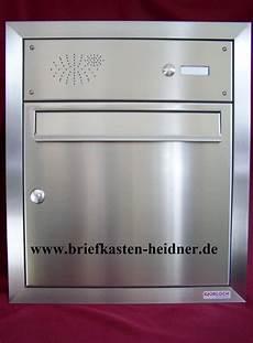 Briefkasten Mit Klingel Aufputz - uph12 knobloch unterputz briefkasten 1 klingel