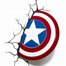 buy philips marvel avengers captain america shield 3d led wall light from our single wall lights