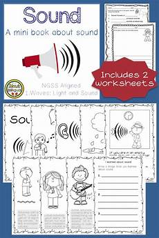 sound book and worksheets ngss aligned bilingual resources sound science first