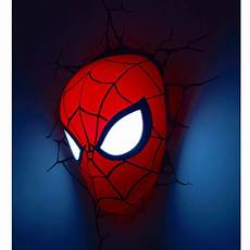 marvel spiderman 3d led wall light l mask stickers new 163 25 90 picclick uk
