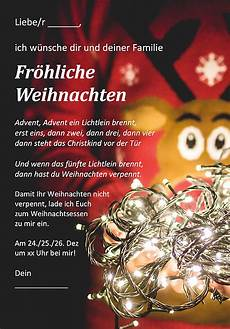 weihnachtskarte als kostenlose word vorlage zum