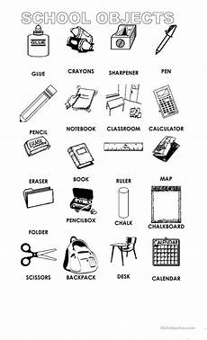 colors and school objects worksheets 12788 school objects worksheet free esl printable worksheets made by teachers