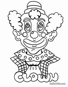 circus coloring pages clown
