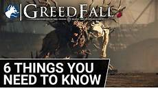 greedfall reveal everything en on mil said or say nothing greedfall 6 things you need to know before buying youtube