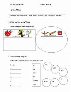 the city school science worksheets for grade 3 12513 science vocabulary and interactive worksheet for esl students grade 3 by junglehill teaching