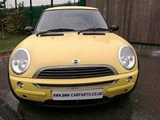 2002 mini r50 one 3 door hatchback petrol manual