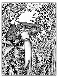 free printable coloring pages for adults 17634 free coloring page coloring difficult frog a frog on a with beautiful background