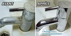 3 astuces qui marchent pour d 233 tartrer les robinets sans