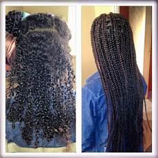 box braids before and after braids braided hairstyles box braids