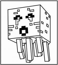 Minecraft Malvorlagen Mod Printable Minecraft Ghast Coloring Pages Geburtstag