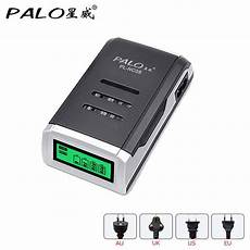 Palo Nc572 Slot Rechargeable Battery Charger by Palo Charger Universal C905w 4 Slots Lcd Display Smart