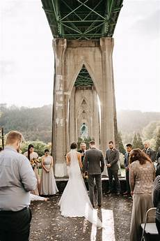 cathedral park wedding portland wedding photographer k
