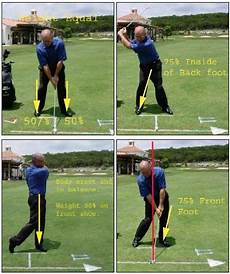 correct golf swing proper balance rhythm in golf swing