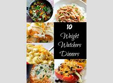 Weight Watchers Dinner Recipes · The Typical Mom