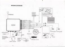 New Car Alarm Remote Set Central Locking Kit 4 Doors