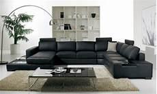 Idee Deco Salon Avec Canape Cuir Noir Id 233 E De D 233 Co