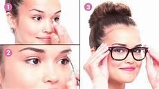 comment se maquiller quand on porte des lunettes ce tuto