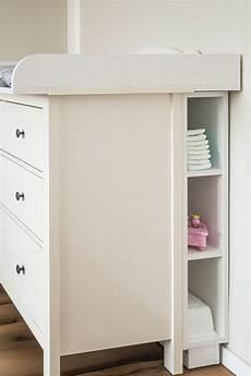 Ikea Hemnes Wickeltisch - kraftkids stauraumregal f 252 r wickeltisch wei 223 passend f 252 r