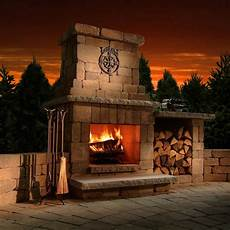 outdoor fireplace buying guide fireplace styles fuel types more hayneedle
