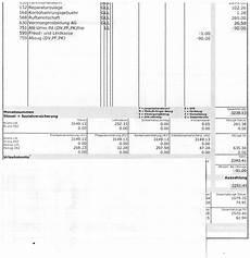 Lohnabrechnung Pensionskasse Brutto Netto Abz 252 Ge Brutto