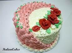decorazioni torte con panna montata torta di compleanno decorata con panna montata italian cakes