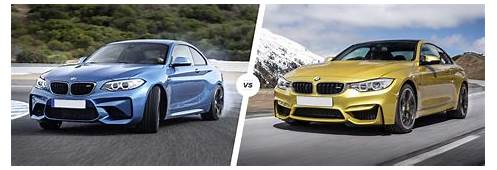 BMW M2 Vs M4 – Side By Comparison  Carwow