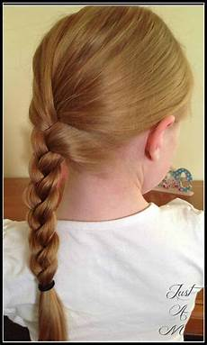 Simple Plaits basic plait just a hairstyles just a