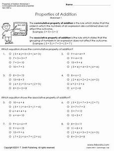 properties of multiplication worksheets grade 1 4943 pin on place value