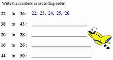 writing numbers in ascending and descending order worksheets 21206 ascending order or descending order bigger to smaller number smaller to bigger