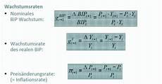 berechne die nominale wachstumsrate des bip 1995 bip 1