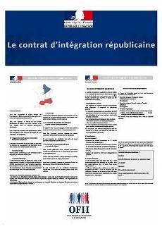 la signature du contrat d int 233 gration r 233 publicaine ofii