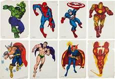 Marvel Comic Helden Malvorlagen Marvel Poster Superheros Classic Bid On