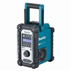 Makita Baustellenradio Dmr 110 F 252 R Empfang Dab Real