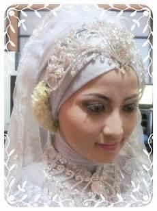 Gambar Model Jilbab Pengantin Muslim Modern Terbaru