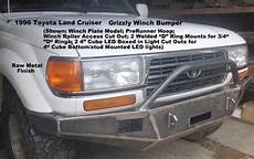 books about how cars work 1997 toyota land cruiser on board diagnostic system 1989 1997 toyota land cruiser model 80 series custom front winch plate grizzly s custom truck