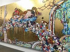 Murakami Exhibit At Gagosian Mixes And New Society