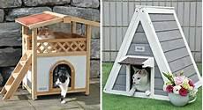 niche exterieure pour chat jardin 20 cabanes ext 233 rieures pour nos amis les chats