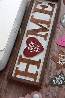 Home Decor Ideas Using Cricut by Diy Seasonal Home Sign With The Cricut Knife Blade