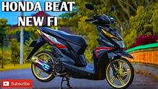 Modifikasi Motor Beat Fi Babylook by Modifikasi Beat Babylook Honda Beat New Fi Part 1