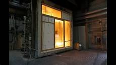 brandversuch festverglasung und t 252 r aus holz