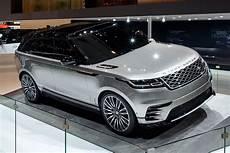 nouveau range rover velar new range rover velar suv revealed geneva debut specs