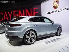 2019 shanghai motor show the new porsche cayenne coupe
