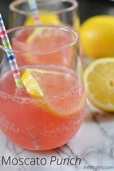 moscato pink punch recipe summer drink recipe