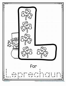 s day letter worksheets 20387 free l for leprechaun alphabet trace and color printable to instantly st patricks