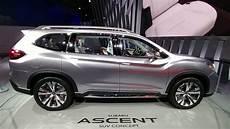3rd Row Subaru subaru ascent concept suv third row seating review